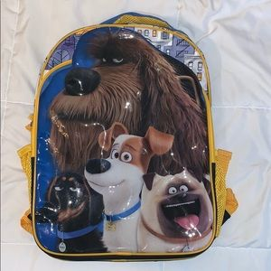 Other - Life of Pets Backpack/School Bag